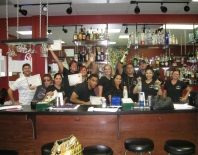 Learn bartending at the Aims Academy Bartending School of Dallas, Texas