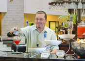 Learn behind an actual bar at the Orlando Bartending School!