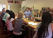 Learn behind an actual bar at the Bartending Academy of Tempe, Arizona!